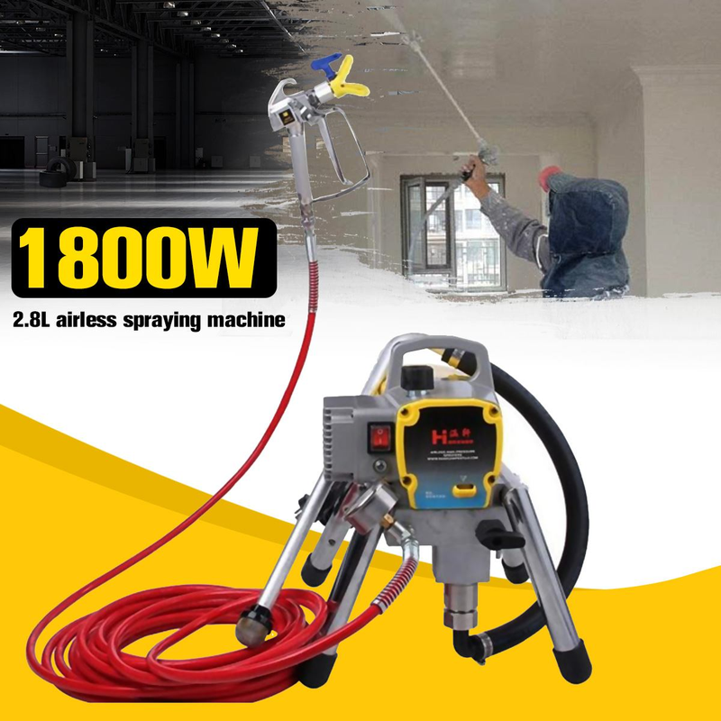 H780 High Pressure Airless Spraying Machine Professional Spray Gun Paint Sprayer Wall