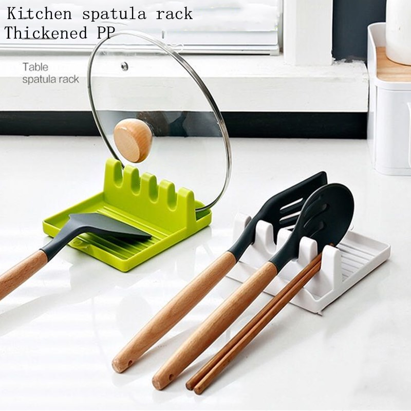 Spatula Ladle Shelf  Cooking Utensil Stand Holder Pot Clips Support Spoon Stove Organizer Tool Pan Cover  Rack Kitchen Tools