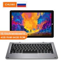 CHUWI originale Hi10 Air 10.1 pollici tablet PC windows 10 Intel Cherry, Quad Core Z8350 4GB RAM 64GB ROM type c 2 in 1 Tablet