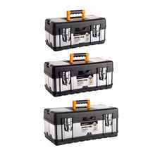 Stainless-Steel Tool-Box Compartment Hardware Plastic Multifunctional Household