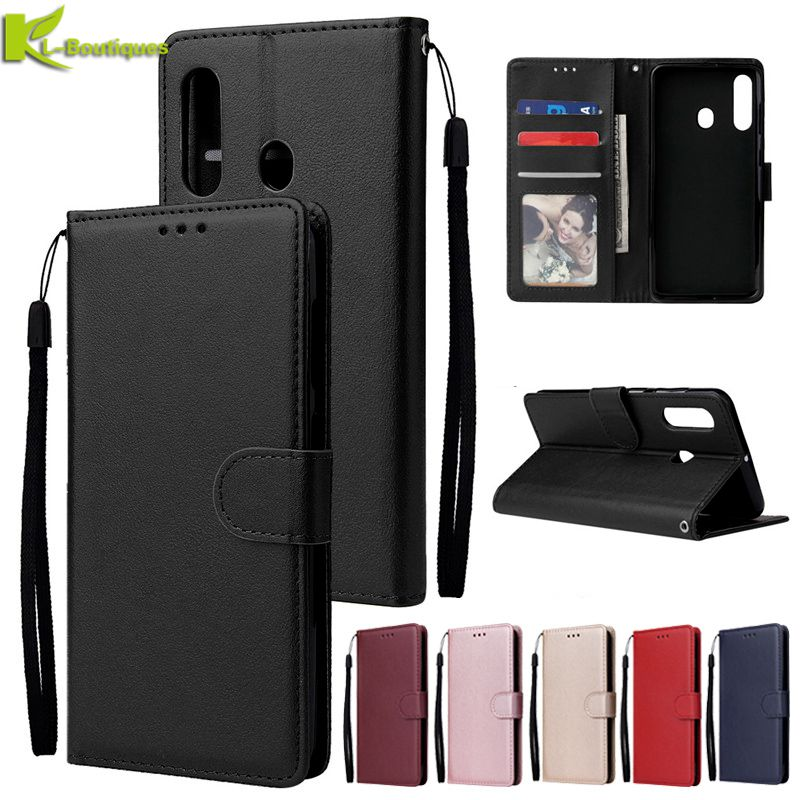 for <font><b>Samsung</b></font> <font><b>Galaxy</b></font> <font><b>A60</b></font> Case Magnetic Flip Case on sFor Fundas <font><b>Samsung</b></font> <font><b>A60</b></font> A 60 <font><b>SM</b></font>-<font><b>A6060</b></font> Cover Classic Leather Phone Cases Coque image