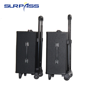 Image 4 - Karaoke Portable Bluetooth Trolley Speaker Rechargable Audio Sound Box Amplifier Outdoor Music Column Center 10inch