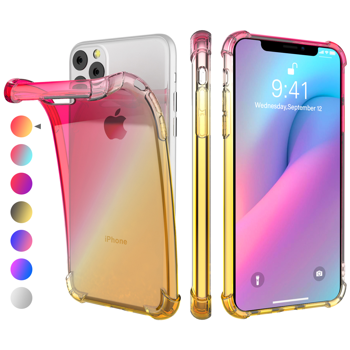 Gradient Soft TPU Case for iPhone 11/11 Pro/11 Pro Max 10