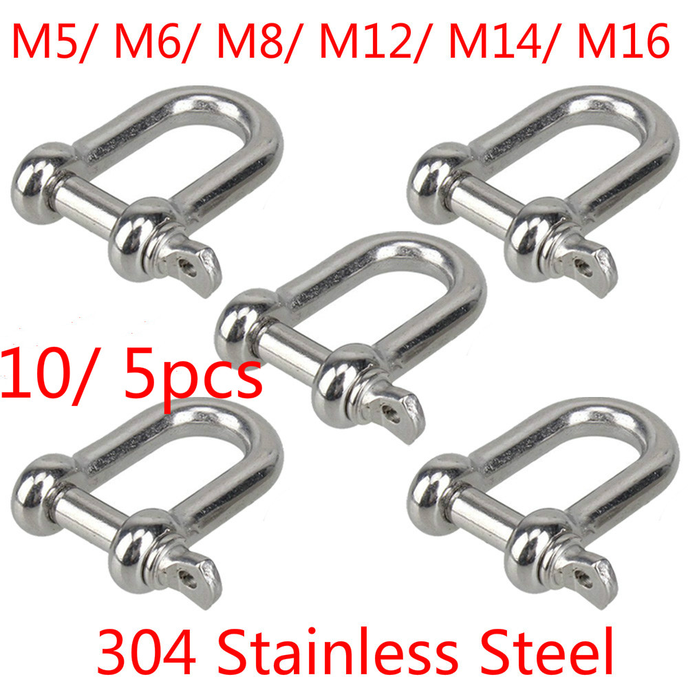 """1//4/"""" Quick Link Chain Rope Cable Strap Connector Rigging 6mm 50 and 100 pcs"""