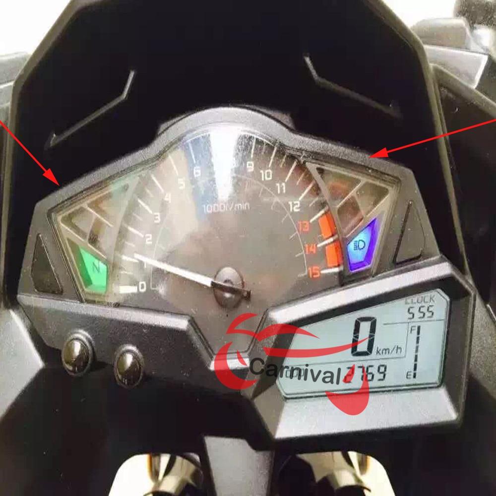 motocicleta, velocímetro, instrumento, caixa, odômetro, tacômetro, habitação