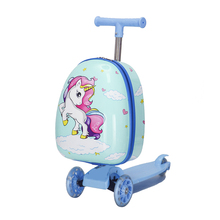 Bag Skateboard-Bag Scooter Suitcase Rolling-Luggage Cabin Lazy-Trolley On-Wheels Travel