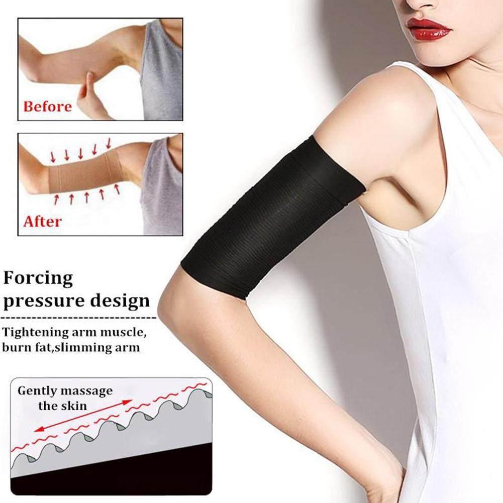 Mga resulta ng larawan para sa Arm Sleeve Weight Loss Calories off Slim Slimming Arm Shaper Massager Sleeve Wrap Weight Loss Fat Burning Running Arm Warmers amazon