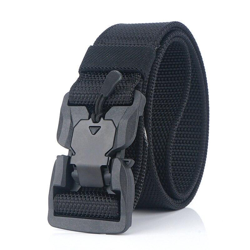 Военный инвентарь армейские тактические ремни для мужчин США армейский тренировочный нейлоновый пояс с металлической пряжкой пояс для охоты на открытом воздухе - Цвет: black4