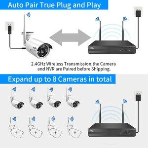 Image 3 - Hiseeu 8CH 무선 CCTV 시스템 1536P 1080P NVR 와이파이 IR CUT 야외 3MP AI IP CCTV 카메라 보안 시스템 비디오 감시 키트