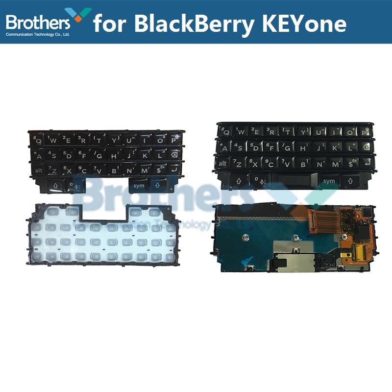 Keypad For BlackBerry KEYone DTEK70 Keyboard Button Flex Cable For BlackBerry DTEK70 Phone Replacement Parts Black Silver 1pcs