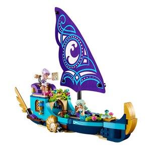 Bela новые строительные блоки для девочек DIY кирпичи развивающие игрушки Совместимые с elves 41073 Naida's Epic Adventure Ship Бесплатная доставка