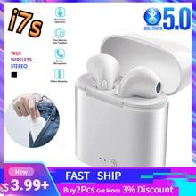 TWS Bluetooth 5.0 słuchawki bezprzewodowe słuchawki stereofoniczne słuchawki sportowe słuchawki douszne z mikrofonem do iPhone Xiaomi i wszystkie telefony