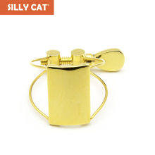 Bakelite Mouthpiece gold-plated Ligature Clip Butterfly Steel wire for Alto/ Tenor/Soprano Saxophone