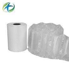 Горячая воздушная подушка пластиковый рулон упаковочная сумка пленка воздушная подушка пленка 20 мкм HS102B