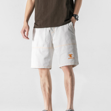 2021 summer men's five-point pants new youth fashion stitching personality shorts