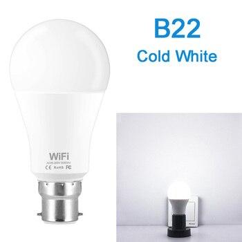 Dimmable 15W B22 E27 WiFi Smart Light Bulb LED Lamp App Operate Alexa Google Assistant Control Wake up Smart Lamp Night Light 10