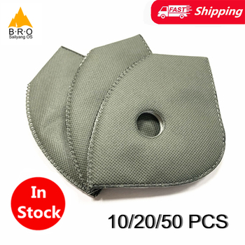 In Stock Activated Carbon Masks Filter PM 2.5 Air Pollution Mask Valve Bicycle Cycling Dust Proof Pollen Face Protection Masker