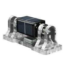 Square Solar Magnetic Levitation Anti-Shaking Dual Stand Mendocino Motor Horizontal Levitating Model