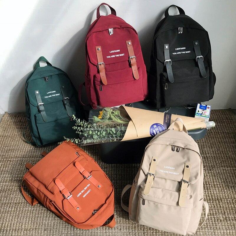 Водонепроницаемый нейлоновый рюкзак для женщин 2020, сумка через плечо, противокражная дорожная сумка, большой рюкзак, школьный рюкзак для девочек подростков|Рюкзаки|   | АлиЭкспресс