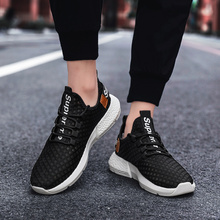 Men Lightweight Sneakers Mesh Breathable Sport Jogging Walking Running Black Shoes Designer Brand Chaussures