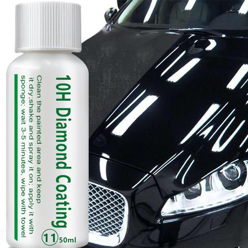 10/20/50ML Diamond Coating Hydrophobic Glass Coating Ceramic Automotive Coating Car Kit Diamond Hydrophobic Glass Coating Polish