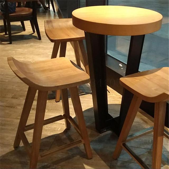 Modern Wood Table Set 4
