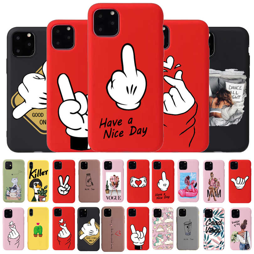 Cool Leuke Hond Telefoon Case Voor Iphone 6 7 8 Plus X Xr Xs 11Pro Max Cases Voor Iphone 11 pro Soft Silicon Cover Mooie Ontwerp