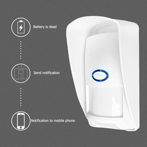 Image 5 - JeaTone 433Mhz Wireless PIR Sensor Infrared Outdoor Motion Detector with Pet Immune Waterproof for Home Security Alarm System