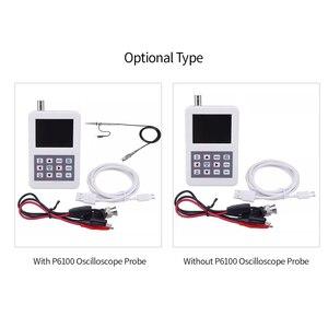 Image 5 - KKmoon osciloscopio Digital portátil Mini, 5M de ancho de banda, 20MSps de frecuencia de muestreo con sonda de osciloscopio P6100