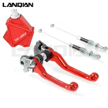 цена на For Honda CRF250L Motorcycle Easy Pull Clutch Lever System and Brake Clutch Lever CRF 250L 2012 2013 2014 2015 2016 2017 CRF250L