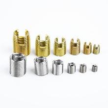 116 pçs fio interna inserção de rosca e auto rosqueamento kit ferramenta de reparo conjunto com caso fácil e rápido para instalar