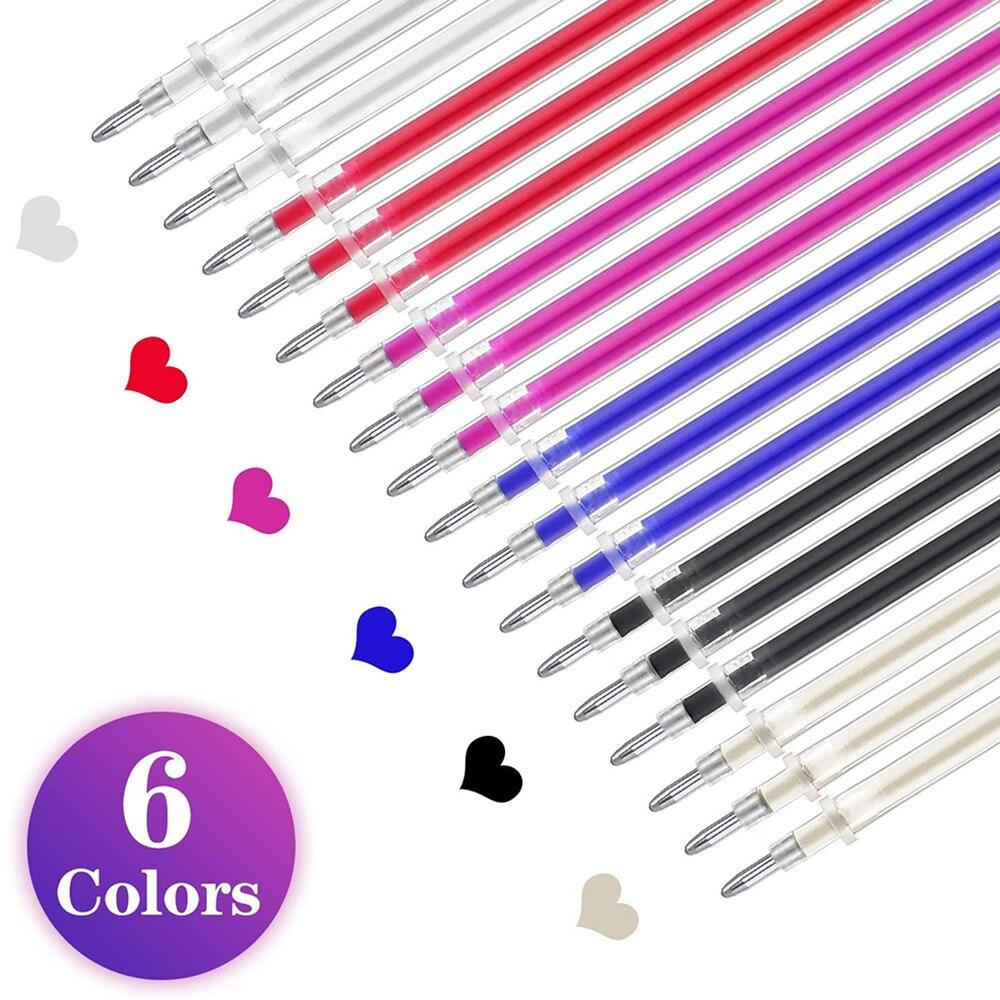 6 шт ручка для стирания тепла ткань маркировочная и 12 термостираемая