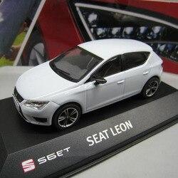 1/43 масштаб seat leon ibiza sc модель автомобиля игрушка Литье под давлением модель может быть использована как отправить детям подарки модель колл...