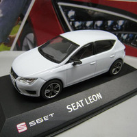 1/43 scale seat leon ibiza sc car model toy diecast model Can be used as Send children gifts model collection display