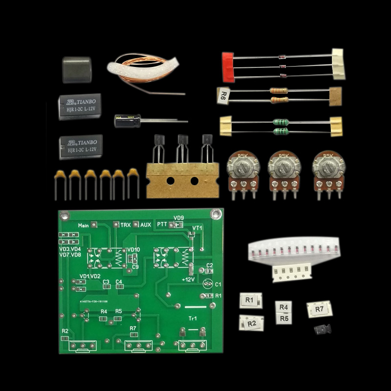 2020 Kit  DIY QRM Eliminator X-Phase (1-30 MHz) HF Bands Electrical Equipment Supplies Connectors Hand Tools Parts