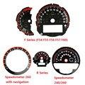 Auto Styling Tachometer Tachometer Zifferblatt Aufkleber für Mini Cooper JCW F54 F55 F56 F57 F60 R55 R56 R60 R61 Ersatz zubehör-in Kfz Innenraum Aufkleber aus Kraftfahrzeuge und Motorräder bei