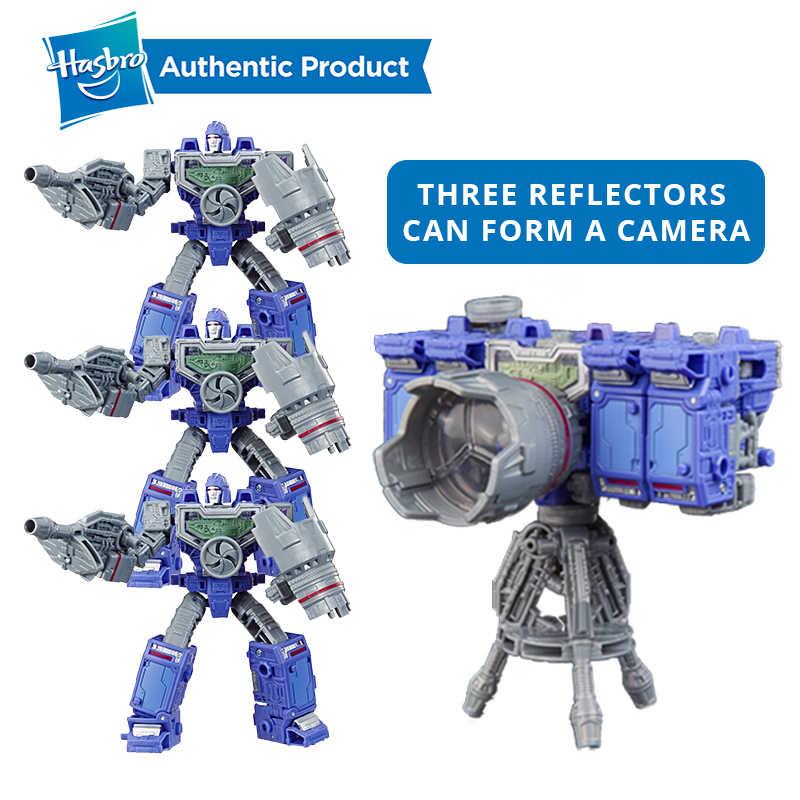 Hasbro transformadores brinquedos gerações guerra para cybertron cerco micromaster WFC-S18 soundwave spy patrol 2-pacote figura de ação