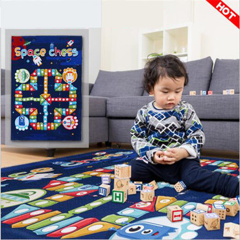 Children's Rug 100*150 CM Baby Play Mat Baby Crawling Mat Kids Rug Children's Furniture Educational Toys Rug For Baby Babygym