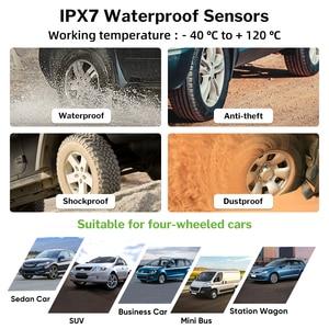 Image 5 - Système de surveillance de la pression des pneus solaire Deelife TPMS 0 116 psi 0 8 bar TMPS moniteur de pression des pneus de voiture capteur externe interne