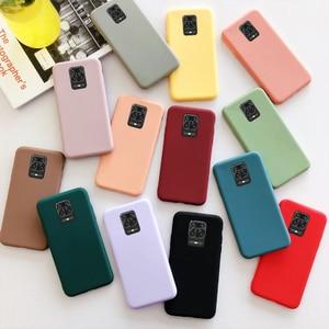 luxury matte silicone case for xiaomi poco x3 redmi note 9 pro max case for xiaomi redmi 9 note 9s 8t 7 pro mi note 10 lite case