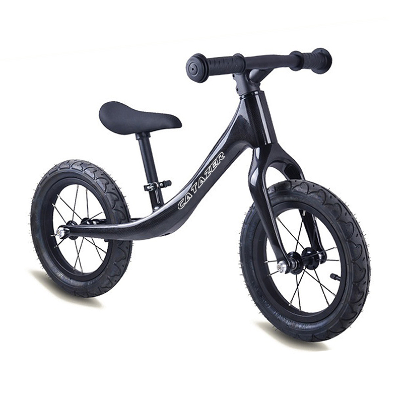 Children Carbon Wheel Balance Bike Scooter 12inch Baby Walker Portable Bike No Foot Pedal Kids Bicycle Carbon Walker Riding Toys