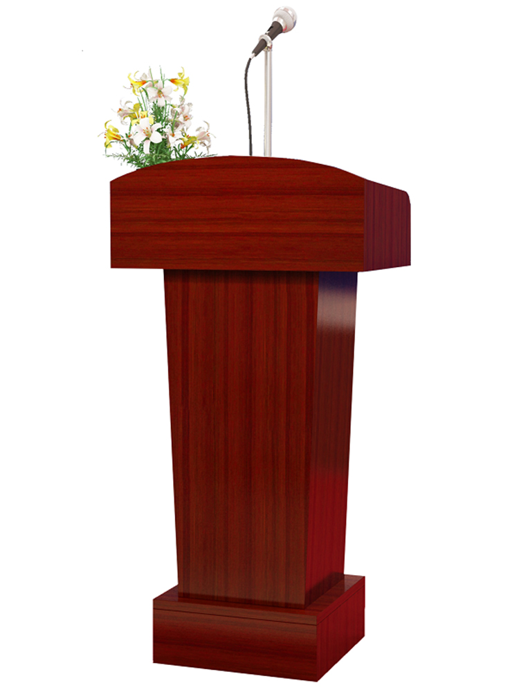 Podium Welcoming Platform Reception Desk Speech Table Simple Modern Conference Room Classroom Podium Table