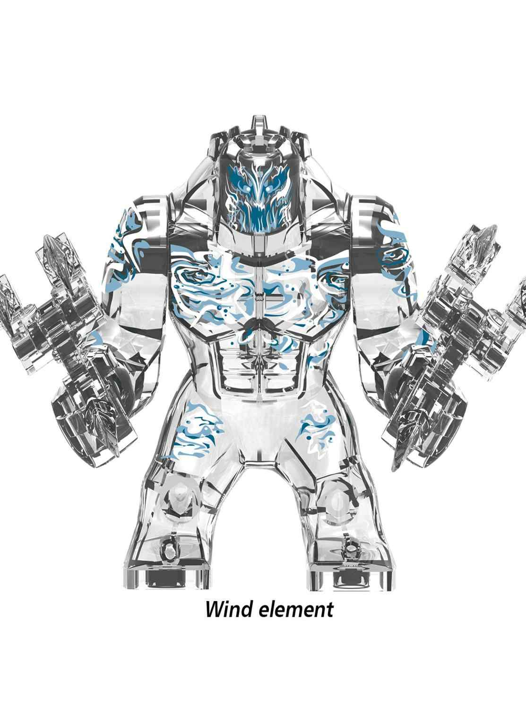 Big Size Hulk Marvel Avengers Endgame Supereroi lEGOED Hulkbuster Ironman Spiderman Thanos Blocchi di Costruzione di mattoni Giocattolo Per I Bambini