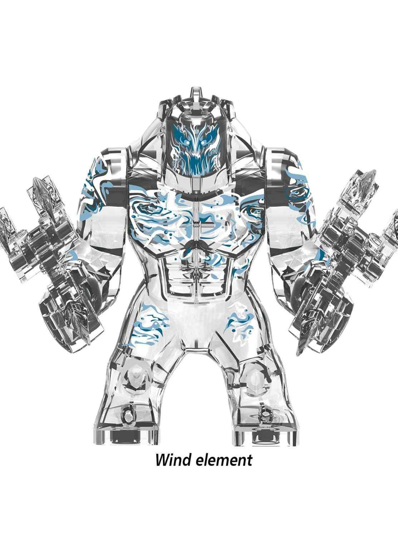 Duży rozmiar Hulk Marvel Avengers Endgame superbohaterowie lEGOED Hulkbuster Ironman Spiderman Thanos klocki klocki zabawki dla dzieci