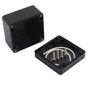 Black Color Waterproof Plastic Enclosure Box Electronic Housing Instrument Case Electrical Project Outdoor Junction Box 200*120