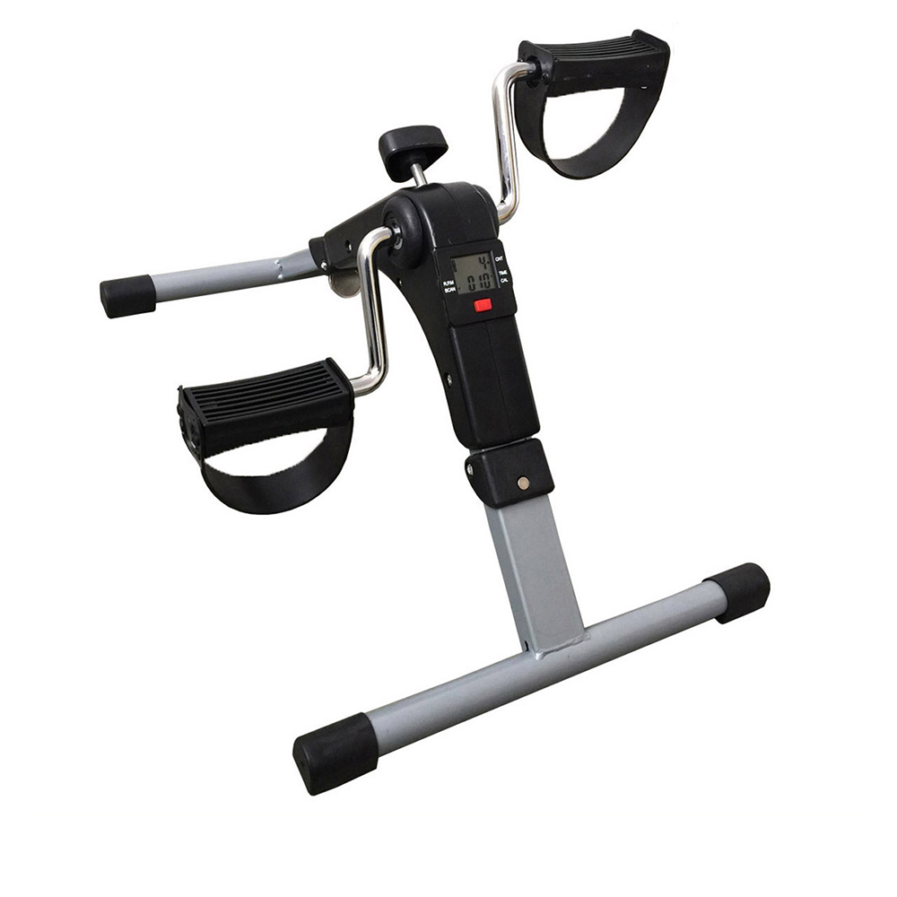 Permalink to Exercise Bike Adjustable Resistance With LCD Monitor Fitness Equipment Home Elderly Rehabilitation Bicycle Hand Leg Trainer