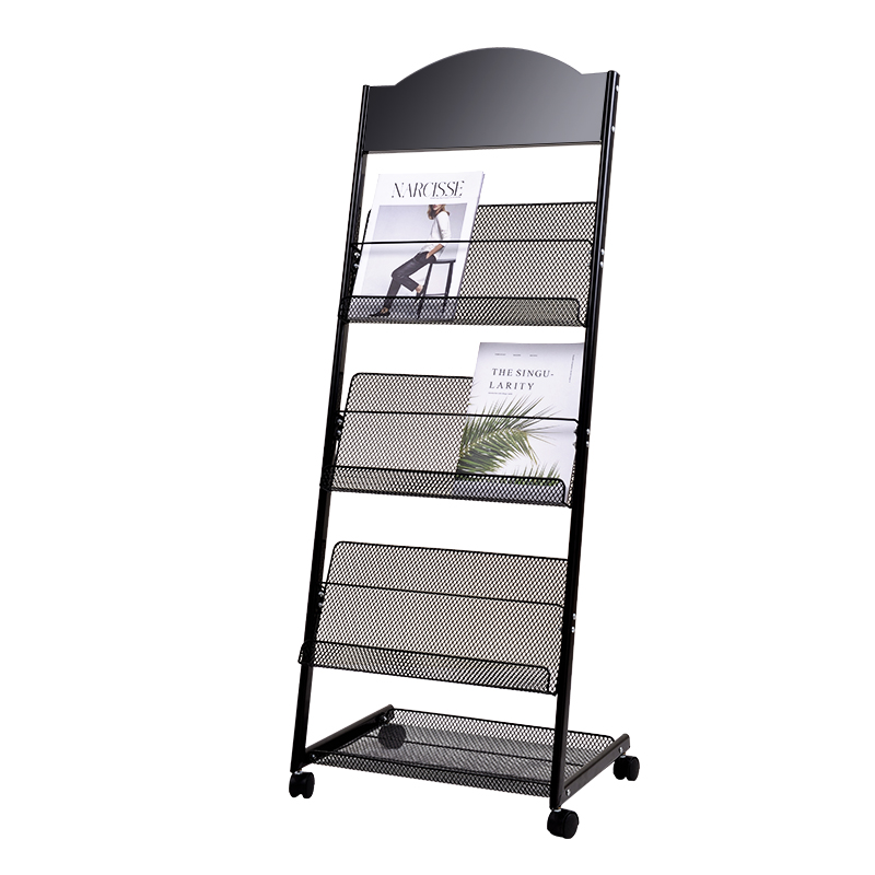 Magazine Shelf, Publicity Material Shelf, Display Shelf, Book And Newspaper Shelf, Display Shelf, Landing Newspaper Shelf