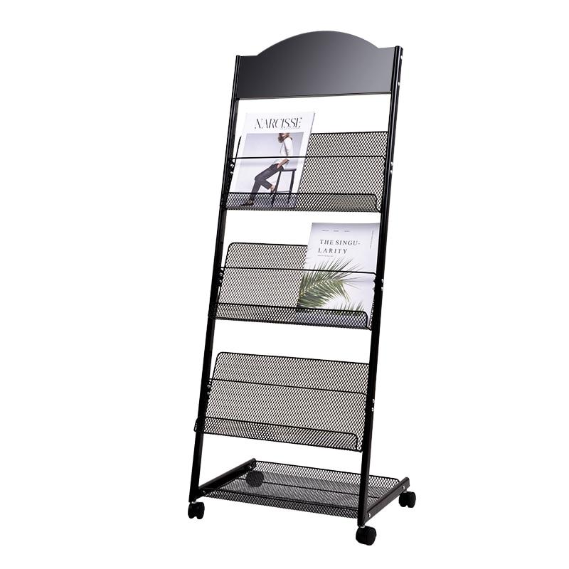 Magazine Shelf, Publicity Material Shelf, Display Shelf, Book And Newspaper Shelf, Display Shelf, Landing Newspaper Shelf