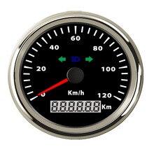200 км/ч 120 км/ч Спидометр 85 мм автомобиль лодка мотоцикл спидометр одометр с поворотным светом