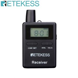 Image 1 - Retekess TT109 Wireless Receiver for Wireless Tour Guide System for Traveling Museum Visit Meeting Factory Church